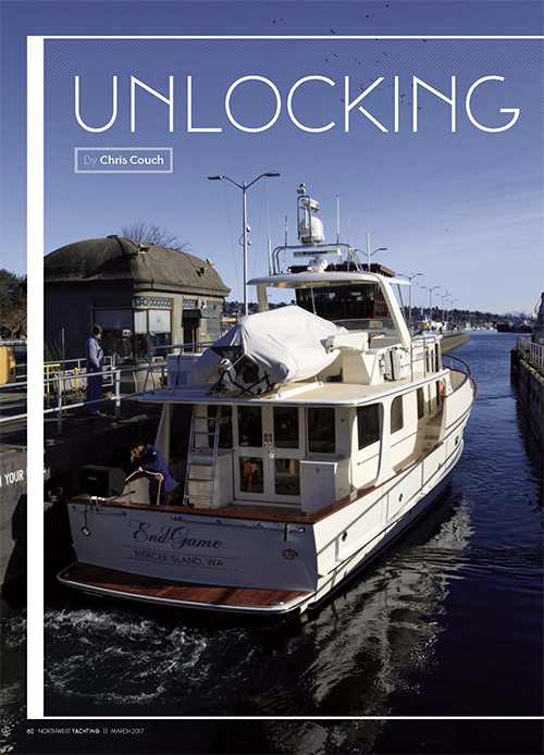 Unlocking the Ballard Locks article by Captain Couch