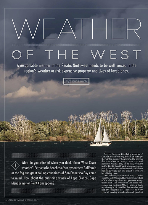 Weather of the West Article by Captain Couch