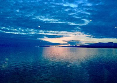 Sunset Strait of Georgia